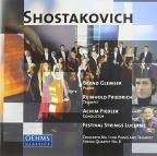 Shostakovich: Concerto No. 1 for piano & trumpet; String Quartet No. 8