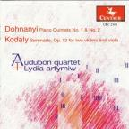 Piano Quintets 1 &amp; 2 / Serenade Op 12