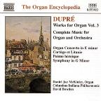 Dupre: Works for Organ, Vol. 3