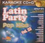 Latin Party Karaoke: Pop Hits, Vol. 22