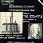 Telemann: The Complete Recorder Music, Vol. 3 - The Sonatas
