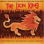 Lion King: Musical Highlights From the Hit Movie & Stage Play