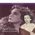 German Song / Return to Sweden, Volume 3 / Recordings 1946 - 1958