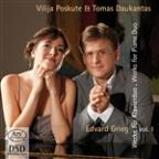 Grieg: Works for Piano Duo, Vol. 1