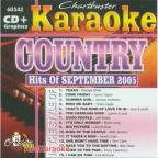 Karoake: Country Hits Of September 2005