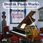 Dvorak: Piano Works Played on Dvorak's Own Bosendorfer Piano, Vol. 2
