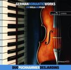 German Romantic Works for Viola & Piano