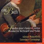 C.P.E. Bach: Sonatas for Keyboard & Violin