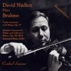 David Nadien plays Brahms