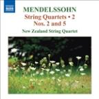 Mendelssohn: String Quartets, Vol. 2