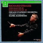 Strauss: Don Juan, Don Quixote /Daniel Barenboim, Chicago SO