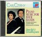 Czerney: Piano Music for Four Hands / Tal, Groethuysen