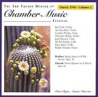 Tucson Winter Chamber Music Festival - March 1996 Vol 2
