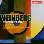 Weinberg: Symphonies, Vol. 1