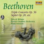 Diamond - Beethoven: Triple Concerto, Septet, Etc / Sirbu