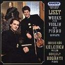 Liszt: Complete Works for Violin and Piano