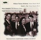 McKinley, Post, Hampton, Thomson: String Quartets
