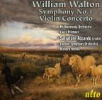 William Walton: Symphony No. 1; Violin Concerto