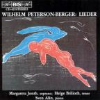 Wilhelm Peterson-Berger: Lieder