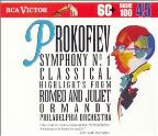 Basic 100 Volume 45 - Prokofiev: Symphony no 1, etc /Ormandy