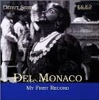 Debut Series - Mario Del Monaco - My First Record