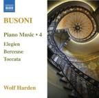 Busoni: Piano Music, Vol. 4