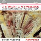 "Bach: Goldberg Variationen; Sweelink: Fantasia ""Bach"""