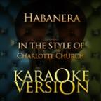 Habanera (In The Style Of Charlotte Church) [karaoke Version] - Single