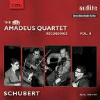 RIAS Amadeus Quartet Recordings Vol. 2: Schubert