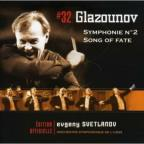 Glazounov: Symphonie No. 2; Song of Fate