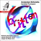 Britten: Les Illuminations; Variations on a Theme of Frank Bridge ; Serenade; Now Sleeps the Crimson Petal
