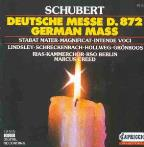 Schubert: German Mass, Stabat Mater, etc / Creed, RSO Berlin