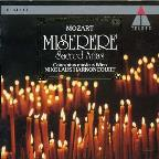 Mozart: Miserere - Sacred Arias