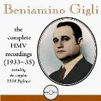 Beniamino Gigli - The Complete HMV Recordings