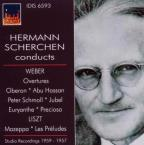 Hermann Scherchen Conducts Weber & Liszt (1957, 1959)