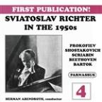 Sviatoslav Richter in the 1950s, Vol. 4