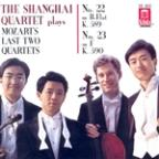 Shanghai Quartet Plays Mozart's Last Two Quartets - No. 22 K 589, No. 23 K. 590