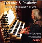 Preludes & Postludes for the year beginning 9-11-2001