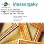 Mussorgsky: Pictures at an Exhibition; Songs and Dances of Death; A Night on the Bare Mountain