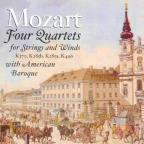 Mozart: Four Quartets for Strings and Winds