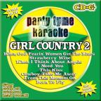 Party Tyme Karaoke: Girl Country, Vol. 2