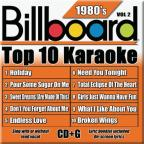 Billboard Top 10 Karaoke: 1980's, Vol. 2