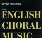 English Choral Music, Vol. 1