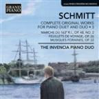 Schmitt: Complete Original Works for Piano Duet and Duo, Vol. 3