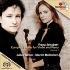 Schubert: Complete Works for Violin Vol 1