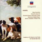 Handel: Oboe Ctos No 1-3/Cto a Due Cori No 1-3