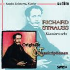 Richard Strauss: Klavierwerke - Originale & Transkriptionen