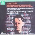 Martinu: Double Concerto, Concerto for String Quartet, etc