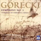 Gorecki: Symphony No. 3 'Symphony of Sorrowful Songs'