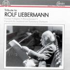 Tribute to Rolf Liebermann